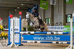 Hoste Chloé, BEL, Kita<br /> Nationaal Indoor Kampioenschap Pony's LRV <br /> Oud Heverlee 2019<br /> © Hippo Foto - Dirk Caremans<br /> 09/03/2019