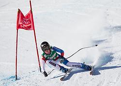 12.01.2013, Karl Schranz Abfahrt, St. Anton, AUT, FIS Weltcup Ski Alpin, Abfahrt, Damen im Bild Lara Gut (SUI) // Lara Gut of Switzerland in action during ladies Downhill of the FIS Ski Alpine World Cup at the Karl Schranz course, St. Anton, Austria on 2013/01/12. EXPA Pictures © 2013, PhotoCredit: EXPA/ Johann Groder