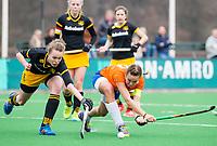 BLOEMENDAAL - hockey - Competitie Landelijk meisjes : Bloemendaal MB1-Den Bosch MB1 (1-1). Florence ter Brugge van Bl'daal. COPYRIGHT KOEN SUYK