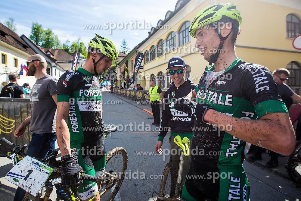 during Cross Country XC Mountain bike race for Slovenian National Championship in Kamnik, on April 30, 2016 in Kamnik, Slovenia. Photo by Grega Valancic / Sportida