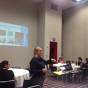 College Readiness Senior Manager Jennifer Ertel present on the Middle School Mind at the 30th annual Houston Hispanic Forum Career and Education Day.
