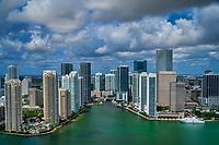 Miami River & Skyline