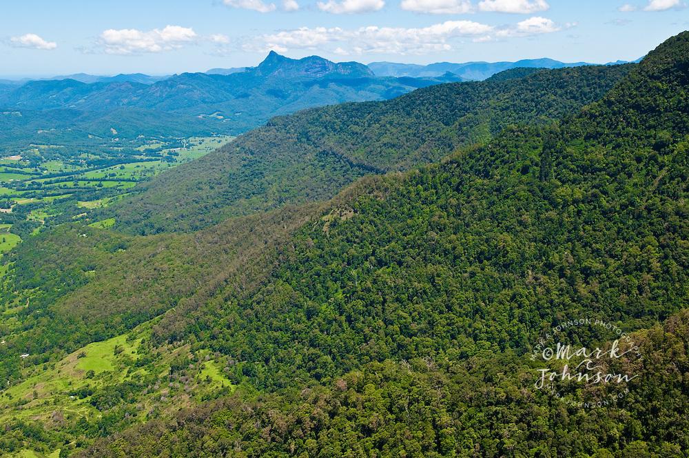 View from Echo Point Lookout, Albert River Circuit, Lamington National Park, Queensland, Australia