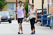 27.AUGUST.2013. LOS ANGELES<br /> <br /> ASHLEY GREEN WORKING OUT WITH A FRIEND IN SHERMAN OAKS, CALIFORNIA<br /> <br /> BYLINE: EDBIMAGEARCHIVE.CO.UK<br /> <br /> *THIS IMAGE IS STRICTLY FOR UK NEWSPAPERS AND MAGAZINES ONLY*<br /> *FOR WORLD WIDE SALES AND WEB USE PLEASE CONTACT EDBIMAGEARCHIVE - 0208 954 5968*