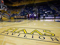 December 29, 2009; Berkeley, CA, USA;  Floor view of Haas Pavilion before the game between the UC Santa Barbara Gauchos and the California Golden Bears.  California defeated UC Santa Barbara 87-66.