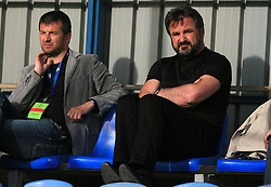 Dejan Djuranovic and Stane Orazem at 32th Round of Slovenian First League football match between NK Domzale and NK Hit Gorica in Sports park Domzale, on May 6, 2009, in Domzale, Slovenia. Gorica won 2:0. (Photo by Vid Ponikvar / Sportida)