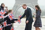 Prince William & Duchess of Cambridge in Paris - 18 March 2017