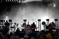 REGINA, SK - MAY 17: The Eagles perform at Mosaic Stadium on May 17, 2018 in Regina, Canada. (Photo by Marissa Baecker/Shoot the Breeze)