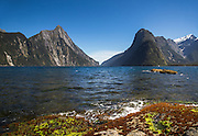 Mitre Peak and Milford Sound