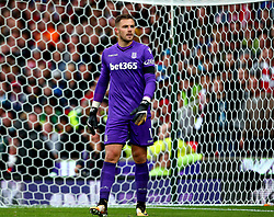 Jack Butland of Stoke City - Mandatory by-line: Robbie Stephenson/JMP - 19/08/2017 - FOOTBALL - Bet365 Stadium - Stoke-on-Trent, England - Stoke City v Arsenal - Premier League