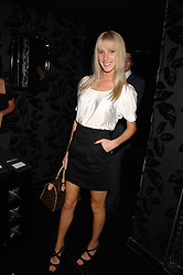 AYESHA MAKIM neice of Sarah, Duchess of York at the opening of the new club Chloe, 3 Cromwell Road, London on 7th June 2007.<br /><br />NON EXCLUSIVE - WORLD RIGHTS