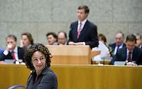 Nederland. Den Haag, 20 september 2007.<br /> Tweede dag algemene politieke beschouwingen in de tweede kamer.<br /> Femke Halsema, GroenLinks<br /> Foto Martijn Beekman <br /> NIET VOOR TROUW, AD, TELEGRAAF, NRC EN HET PAROOL