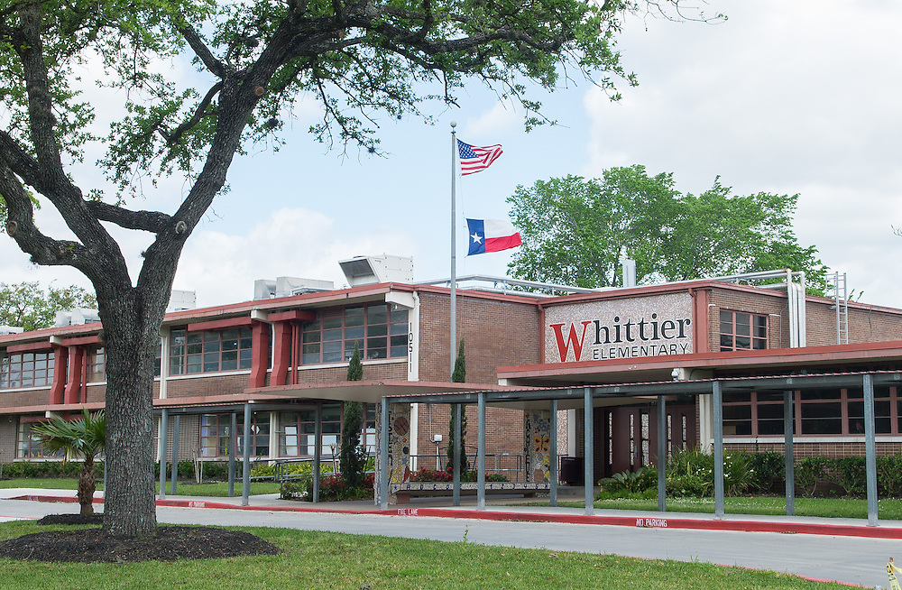 Whittier Elementary School photographed April 7, 2013. The school was a recipient of funds from the 2007 Bond.