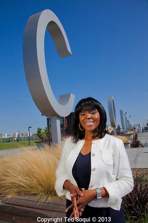 New Mayor of Compton, Aja Brown.