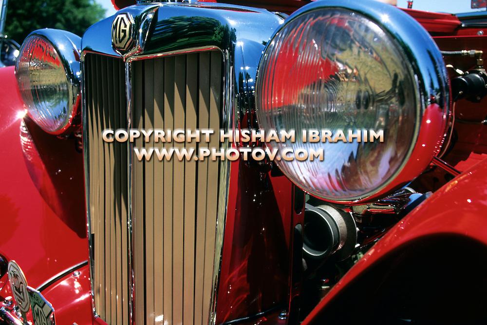 MG Antique Classic British Car