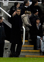 Photo: Jed Wee.<br /> Newcastle United v Chelsea. Carling Cup. 20/12/2006.<br /> <br /> Chelsea manager Jose Mourinho.