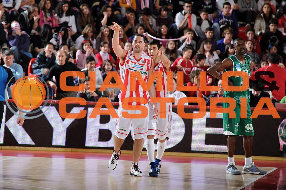DESCRIZIONE : Teramo Lega A 2010-11 Banca Tercas Teramo Air Avellino<br /> GIOCATORE : Fletcher Kevin<br /> SQUADRA : Banca Tercas Teramo<br /> EVENTO : Campionato Lega A 2010-2011<br /> GARA : Banca Tercas Teramo Air Avellino<br /> DATA : 27/03/2011<br /> CATEGORIA : esultanza<br /> SPORT : Pallacanestro <br /> AUTORE : Agenzia Ciamillo-Castoria/GiulioCiamillo<br /> GALLERIA: Lega Basket 2011 -2011<br /> FOTONOTIZIA: Teramo Basket Serie A 2010-11 Banca Tercas Teramo Air Avellino<br /> PREDEFINITA: