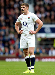 Owen Farrell of England - Mandatory by-line: Robbie Stephenson/JMP - 26/02/2017 - RUGBY - Twickenham Stadium - London, England - England v Italy - RBS 6 Nations round three