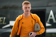 Hull City Midfielder Sam Clucas (11) arriving for the Premier League match between Hull City and Watford at the KCOM Stadium, Kingston upon Hull, England on 22 April 2017. Photo by Craig Zadoroznyj.