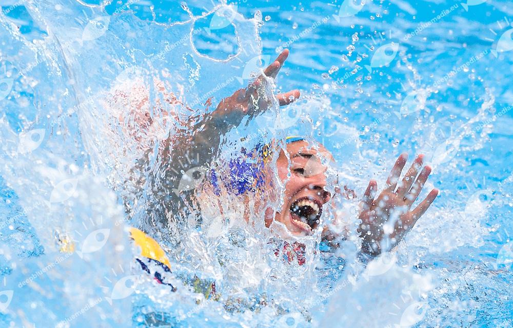 VALIN Stephanie CAN GARCIA Maica ESP  <br /> CANADA vs SPAIN<br /> Waterpolo - Women's preliminary Round Group C<br /> Day 07 30/07/2015<br /> XVI FINA World Championships Aquatics Swimming<br /> Kazan Tatarstan RUS July 24 - Aug. 9 2015 <br /> Photo Giorgio Perottino/Deepbluemedia/Insidefoto