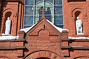 Built between 1903 and 1908, at a cost of $100,000, this beautiful structure started out as St. Joseph's Catholic Church, which served the Slovenian Catholic congregation of Calumet. As the population of Calumet collapsed, the four congregations of Calumet consolidated into one, making this building their church, and renaming it St. Paul the Apostle Church.