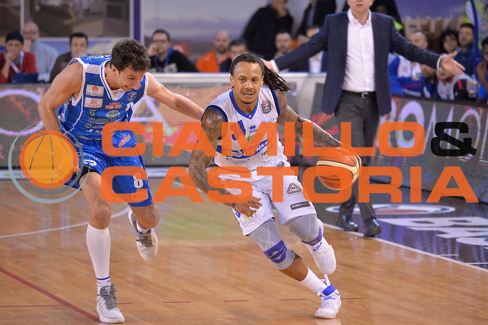 David Moss<br /> Germani Basket Brescia Leonessa - Banco di Sardegna Dinamo Sassari <br /> Lega Basket Serie A 2016/2017<br /> Montichiari, 05/02/2017<br /> Foto Ciamillo-Castoria