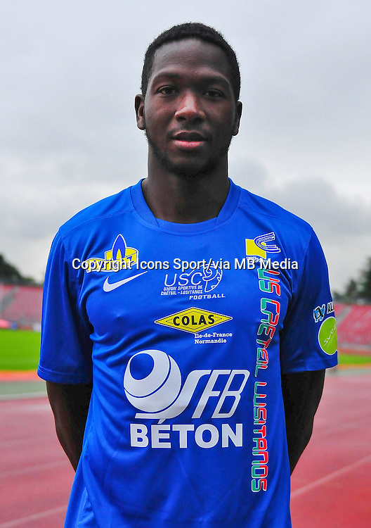 Oumarou DIABY - 16.10.2013 - Photo Officielle - Creteil -<br /> Photo : Philippe LE BRECH / Icon Sport