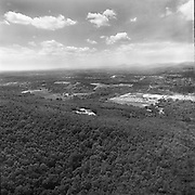 An view of the Liberty University campus taken from the mountain in May of 1977. (Photo by Les Schofer)