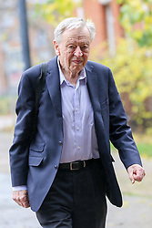 © Licensed to London News Pictures. 26/11/2019. London, UK. LORD ALF DUBS arrives at the Bernie Grant Arts Centre in Tottenham, North London. Photo credit: Dinendra Haria/LNP