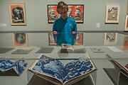 Books by Rodchenko - Pupils from Thomas Tallis School in Kidbrooke who are doing Russian studies, visit the exhibition - Tate Modern's new exhibition Red Star Over Russia on the 100th anniversary of the October Revolution. The exhibition offers a visual history of the Soviet Union, revealing how seismic political events inspired a wave of innovation in art and graphic design. Featuring over 250 posters, paintings and photographs, many on public display for the first time, the exhibition will provide a chance to understand how life and art were transformed during a defining period in modern world history.