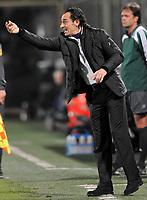 """L'allenatore Cesare Prandelli (Fiorentina)<br /> Fiorentina's trainer Cesare Prandelli<br /> Firenze 1/5/2008 Stadio """"Artemio Franchi"""" <br /> Uefa Cup 2007/2008 Semifinals - Semifinale second Leg<br /> Fiorentina Rangers Glasgow (0-0) (2-4 a.p.)<br /> Foto Andrea Staccioli Insidefoto"""