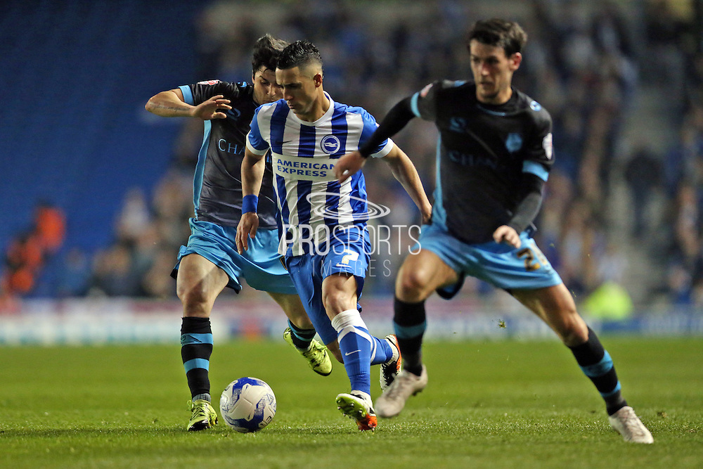 Brighton central midfielder, Beram Kayal (7) during the Sky Bet Championship play-off second leg match between Brighton and Hove Albion and Sheffield Wednesday at the American Express Community Stadium, Brighton and Hove, England on 16 May 2016.