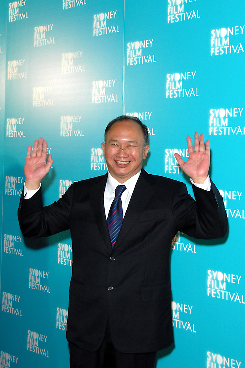 "Director John Woo attends the Australian premiere of 'Red Cliff"" at the 2009 Sydney Film Festival at the State Theatre in Sydney, Australia on June 9th, 2009. (Pictured: John Woo) Photo By Kourosh Azar\Elevation Photos"