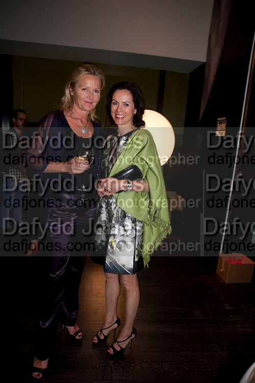 HELENA KLAUSNER; DEDE JOHNSTON, Exposed: Voyeurism, Surveillance and the Camera<br /> Tate Modern, London. OPENING AND DINNER.- 26 MAY 2010.  -DO NOT ARCHIVE-&copy; Copyright Photograph by Dafydd Jones. 248 Clapham Rd. London SW9 0PZ. Tel 0207 820 0771. www.dafjones.com.