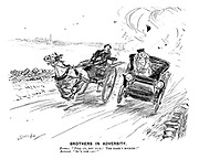 """Brothers in Adversity. Farmer. """"Pull up, you fool! The mare's bolting!"""" Motorist. """"So's the car!"""""""