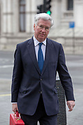 UNITED KINGDOM, London: 23 March 2017 UK Defence Secretary Michael Fallon leaves Downing Street this morning after a terror attack which killed four people including the attacker in Westminster yesterday. Rick Findler / Story Picture Agency