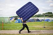 Glastonbury Festival Arrivals Feature