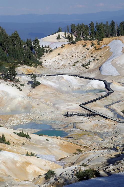 Bumpass Hell, Lassen Volcanic National Park, California, United States of America