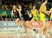 Joline Henry (NZ)<br /> Netball - 2009 Holden International Test Series<br /> Australian Diamonds v New Zealand Silver Ferns<br /> Wednesday 9 September 2009<br /> Hisense Arena, Melbourne AUS<br /> © Sport the library / Jeff Crow