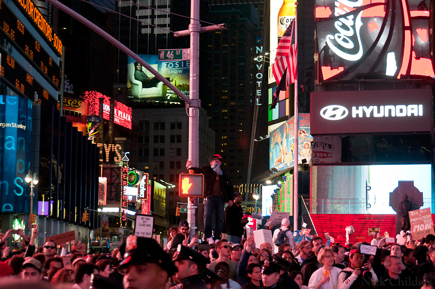 Occupy Time Square