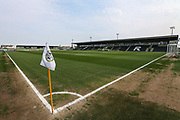 The New Lawn, home of Forest Green Rovers during the EFL Sky Bet League 2 match between Forest Green Rovers and Cambridge United at the New Lawn, Forest Green, United Kingdom on 22 April 2019.