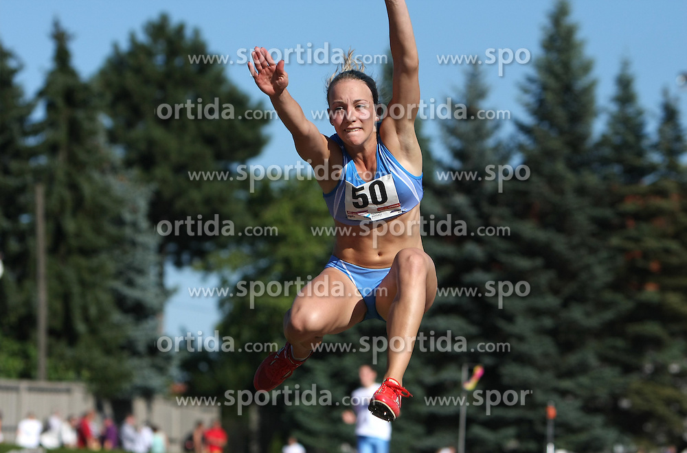 Maja Bratkic at Athletic National Championship of Slovenia, on July 19, 2008, in Stadium Poljane, Maribor, Slovenia. (Photo by Vid Ponikvar / Sportal Images).