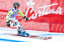 19.01.2011, Tofana, Cortina d Ampezzo, ITA, FIS World Cup Ski Alpin, Lady, Cortina, Abfahrt 1. Training, im Bild Gina Stechert (GER, #4)// Gina Stechert (GER) during FIS Ski Worldcup ladies downhill first training at pista Tofana in Cortina d Ampezzo, Italy on 19/1/2011. EXPA Pictures © 2011, PhotoCredit: EXPA/ J. Groder