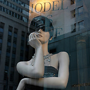 Model as Muse, Bergdorf Goodman