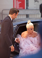 Director Bradley Cooper and Lady Gaga at the premiere gala screening of the film A Star is Born at the 75th Venice Film Festival, Sala Grande on Friday 31st August 2018, Venice Lido, Italy.