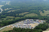 Vermillion new urbanist development outside the town of Huntersville, NC , a Charlotte suburb<br /> <br /> Lat 35,26.609N<br /> Long 80,46.0381W