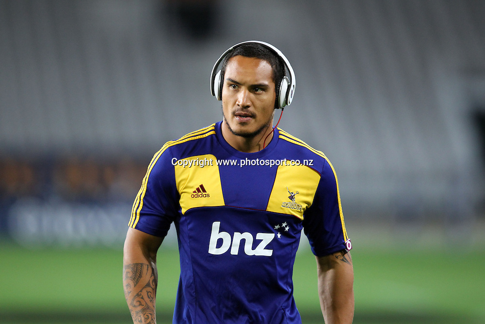 Hosea Gear.<br /> Investec Super Rugby - Highlanders v Stormers, 7 April 2012, Forsyth Barr Stadium, Dunedin, New Zealand.<br /> Photo: Rob Jefferies / photosport.co.nz
