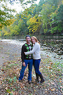 10/14/12 9:27:20 AM - Newtown, PA.. -- Amanda & Elliot October 14, 2012 in Newtown, Pennsylvania. -- (Photo by William Thomas Cain/Cain Images)