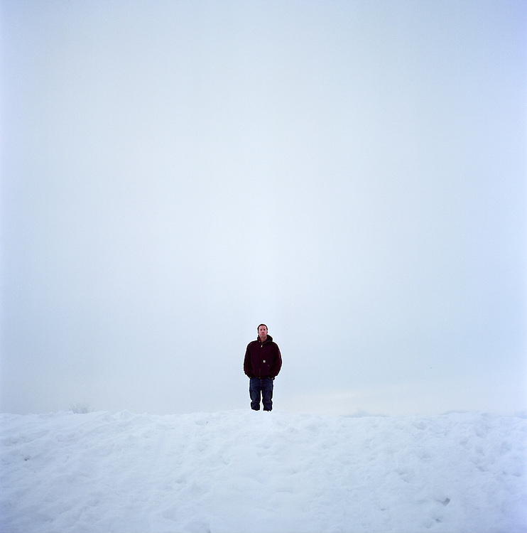 Musician Matthew Dean Herman in Anchorage, Alaska. 2008