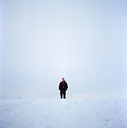 Musician Matthew Dean Herman in Anchorage, Alaska. 2008